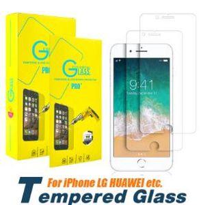 Cyberstore Para iPhone XS MAX XR X 7 8 6 Plus 5S 2.5D tela de vidro temperado filme protetor para Samsung Galaxy S6