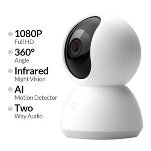 Caméra Xiaomi Mijia Mini IP WIFI 2MP 1080P HD Infrarouge Night Vision Nuit à 360 degrés Système de caméra Smart Mi Smart MI Security Security