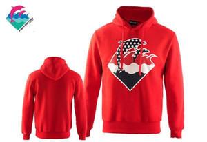 Yeni Pembe yunus Hoodies Erkekler Kadınlar Kazak Hip Hop Ceketler Moda Streetwear Hoody kış Mont ücretsiz kargo
