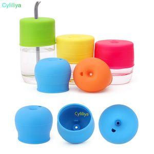 2017 novo silicone tampa Sippy mamilo tampas para qualquer tamanho Kids caneca Toddlers copo de fuga para bebês e crianças BPA livre