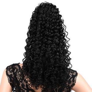 12 дюймов Синтетический зажим в Деформация хвостик Наращивание волос Короткие Afro Kinky Drawstring Ponytail афроамериканской Bun