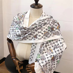 fashionable women spring and summer outdoor travel scarf silk soft and comfortable boutique unique design of spring