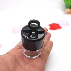 10g Plastik Kozmetik Boş Kavanoz Tencere Göz Farı Plastik Gevşek Toz Kavanoz Tozu Puf Kutuları Hızlı Kargo F1880