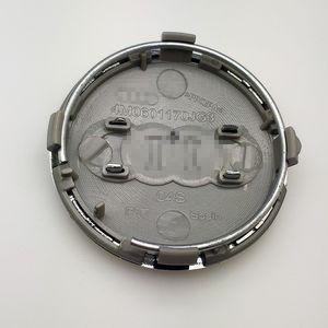 4pcs Para Audi roda Rim Centro Caps 61 milímetros Cap Hub ABS Logo Capa Para Audi A3 / A4L / Q3 / Q7 # 4M0 601 170