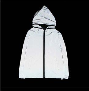 Mens Designer-Jacke mit Kapuze Frühlings-Herbst-Marke Zipper Windbreaker Letters Druck für Männer und Frauen Luxus-Mantel-Jacke Wasserdicht