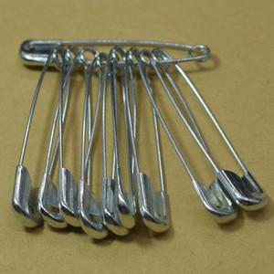 500pcs / серия 57мм Большого размера Silver Metal булавка брошь знак ювелирных изделия Булавка Выводы Шитье Ремесло аксессуары