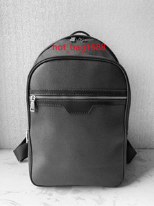 2019 Venta caliente Bolsos de moda clásicos Negro Michael Mochila Bolsas de estilo Bolsos de lona Bolsos de hombro Unisex Bolsos de la escuela 58024