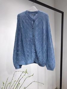 Women Cardigans Sweater V neck Soft Loose Knitwear Single Breasted Casual Knit Cardigan Outwear Winter Jacket Coat CJ191217