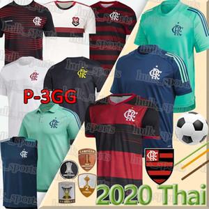 2020 Camisa Flamengo RJ Jogo 1 Feminina GABRIEL B. GUERRERO DIEGO B.HENRIQUE De Arrascaeta 70e Maillots de football 20 21 flamengo uniforme 4GG