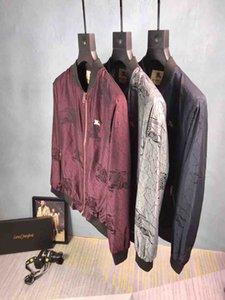 2020 Europe Luxury Italy Milan Summer Autumn Big Pocket Half Zipper Mens Designer Jacket Women Skin Coat Windproof Hooded Coat