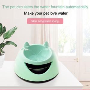 Kedi İçki Otomatik Aydınlık Pet Su Çeşmesi USB Elektrik İçki Filtre Su Sebili Kaseler İçme Otomatik dolaşan