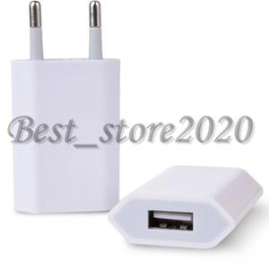 100PCS 원래 OEM 품질 5V 1A 미국 유럽 연합 (EU) AC의 USB 벽 충전기 여행 어댑터의 경우 XS XR 7 플러스 6 7 8 6S