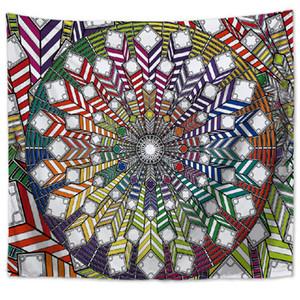 8 Style ARAZZO Floral Hanging tappeto coperta poliestere copriletto Tovaglia Boho Hippie asciugamani Yoga Mat RRA2343