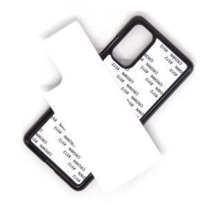 SAMSUNG Galaxy S20 PLUS S20 ULTRA A01 A20E A21, A51, A71, A81, A10, A30, A50 A60 A80 100pcs / lot İÇİN DIY Sublime Isı Basın PC kapak durumda