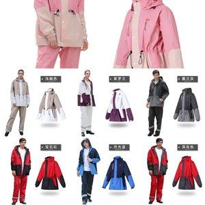 Qin Feiman raincoat suit long full body riding poncho Cloak motorcycle female battery motorcycle raincoat men's waterproof
