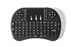 50шт Rii I8 Mini Keyboard Air Mouse 2.4 G беспроводная перезаряжаемая литий ионная батарея пульт дистанционного управления для android TV BOX X96 TX3 mini
