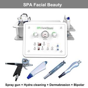 El más nuevo 4 en 1 Facial Spa Dermabrasion Machine Hydro Peeling Rejuvenecimiento de la piel BIO Skin Scrubber water dermabrasion Machine