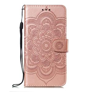 Mandala gaufrage Cover Pour Xiaomi redmi 6 / 6A / redmi redmi 6 Pro / redmi Go Flip Case stand PU Porte-monnaie en cuir sacs de téléphone mobile