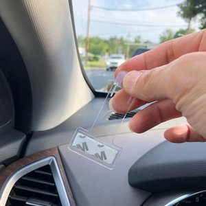 uto Fastener clip Parking pour véhicules de Card Ticket permis Bill Holder Clips pare-brise fenêtre Mont Fastener Autocollants pour voiture Auto Accueil ...