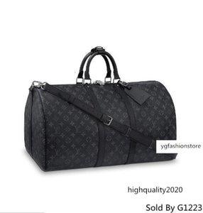 Brang Keepall 55 Bandouli Cat Re M40605 Мужчины Посланника сумки плеча ремень сумка Totes Портфель Портфели Duffle багажа