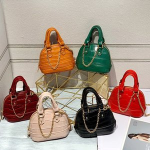 Womens Bag Small 2020 New Style Childrens Mini Bag Crocodile Fashion Chain Messenger Bag All-match Cool Handbag Fashion