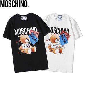 2Luxury Herren-Designer-T-Shirt der neuen Männer und Frauen hochwertige Buchstabedrucken lässig Kurzarmhemd Herren-Designer-Hemd 2 Farben