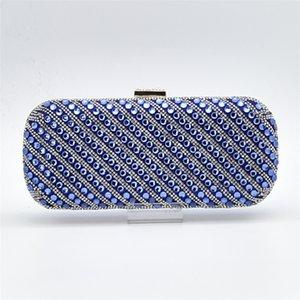 Новое поступление синий цвет Женская обувь с соответствующими сумками набор итальянских дамских туфель и сумок в соответствии с набором африканских свадебных туфель сумка