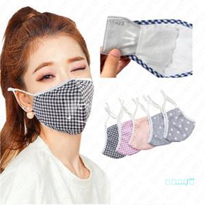 Bahar yaz Pamuk maske Unisex anti-toz yüz maskesi nefes ağız kapak solunum yıkanabilir kullanımlık maskeleri doldurun Pm2. 5 filtre E41305