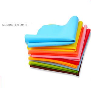 40 * 30 centímetros Silicone Mats Baking Liner Muiti-função Forno Mat isolação térmica Anti-derrapante Pad Bakeware Kid Table Placemat Decorat Mat FFA3785-1