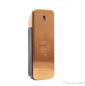 100 ml de marque célèbre 1 million de parfum pour hommes avec une longue durée une bonne odeur bonne qualité un parfum de grande qualité