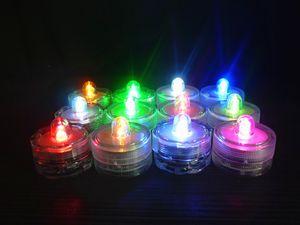 Candle LED Waterproof Wedding Lamp Fishbowl Aquarium Evening Bar Waterproof Eletrônico Candle Lamp Lamp Mergulho