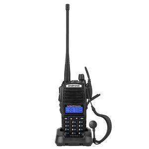 Baofeng UV82 UHF High Power Intelligent FM Lange Range со встроенным светом светодиодные Walkie Talkie пылезащитный и водонепроницаемый двухсторонний радио