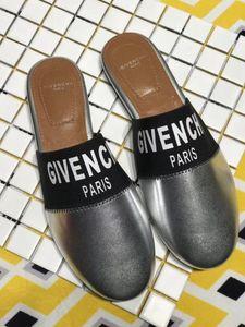 Sandalias para mujer para hombre DesignerLuxury BrandSandals Slide verano de la manera Zapatos de la playa Zapatos negros del deslizador del flip-flop Box 2021804Q