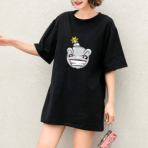 Womens Designer T-shirt Girl Funny Fashion Trend Printing Students Style Personality 2020 Spring New Style Hot Selling Luxry T-shirt New