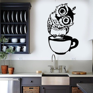 New Fashion Cut Black Cat Wall Decals PVC Self-adhesive Girls Wall Art Stickers Broken Wall Mural Stickers for Kids Room Decoration