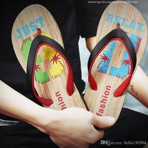 high QUALITY Designer Rubber Non-slip sandals slippers for men Designer flower printed beach flip flops slipper summer Hawaii Beach slippers