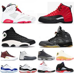 Nike air jordan retro 12 13s uomo FIBA ​​12s più recenti 5s Dream It Do It 9s 10s Sneaker Concord 11s Cap and Gown 13s Uomo Scarpe da ginnastica