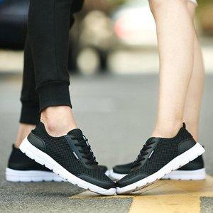 Calçados Femininos Verão homem UPUPER respiráveis Shoes Casual Men Moda Lace Confortável acima as sapatilhas Outdoor Shoes Mais de ooerg Tamanho