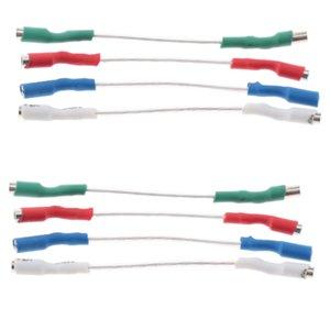 8 fios Pieces Turntable Phono Cartridge Headshell
