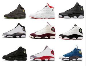 Yüksek Kaliteli ayakkabılar 13 Şikago dpm Bred Basketbol Ayakkabı erkekler 13s Kara Kedi He Got Game Play-Hiper Pembe Sneakers boyutu 7-13