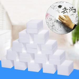 Esponja Mágica Eraser 100 Pçs / set Limpeza Doméstica Esponja Cozinha Limpeza Do Escritório Nano Magia Limpe Esponja De Limpeza Do Banheiro BH2250 TQQ