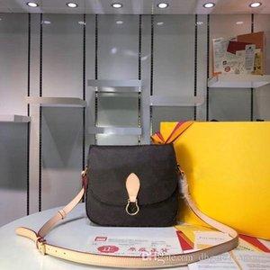 Sac concepteur original de haute qualité de luxe Sacs à main Sacs à main LU Saints Nuage Femmes Marque flip Tote Postman Paquet réel Sacs à bandoulière en cuir