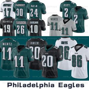 PhiladelphiaMänner 11 Carson Wentz AdlerJersey 17 Alshon Jeffery Jalen Hurts Brian Dawkins Darius Slay Jr Miles Sanders Football