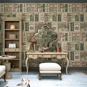 Indoor Camera Bookshelf Sfondo Fotografia Lampada Brown Libreria Tavolo Vintage Carpet puntelli foto sfondo di libri Fucilazione Wallpaper