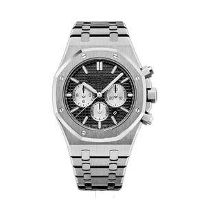 4 colorTop Quality Men's Watch Stainless Steel 42mm VK Quartz Chronograph Movement Sports Men Business Sapphire Wristwatch