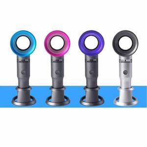 11 Styles USB mini ventilateur portable Leafless rechargeable portable Cooler petit ventilateur de poche Mini Meng Fan Chat Leafless Party Favor ZZA2333