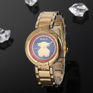 Modemarke kleiner Bär Uhrmens Designer-Uhren Luxuxfrauen Uhren Armband 38mm Damen Armbanduhr orologio di Lusso reloj mujer