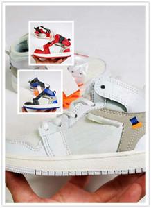 NIKE AIR JORDAN RETRO shoes Kids 1s Space Jam gezüchtet Concord Gym rot Basketball Schuhe Kinder Jungen Mädchen 1 weiße Mitternacht Navy Sneakers Kleinkinder Geburtstagsgeschenk