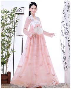 Neue alte chinesische Kostüm Fairy Cosplay Hanfu-Kleid für Frauen-Weinlese-Tang-Klage-Mädchen edle Prinzessin Kostüm Volkstanz Nationale Kleider