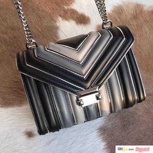 2019 heiße Verkaufs-Art- Frauen Schultertasche Classic Gold-Ketten-Beutel 24cm Verlaufsart Frauen-Handtragetaschen Messenger Taschen
